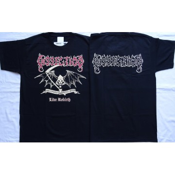 DISSECTION ,,Live Rebirth,, Anti Cosmic Metal of Death OFFICIAL T-SHIRT UNIQUE