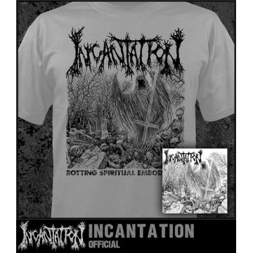 INCANTATION OFFICIAL Rotting Spiritual Embodiment T-SHIRT ABSOLUTELY UNIQUE