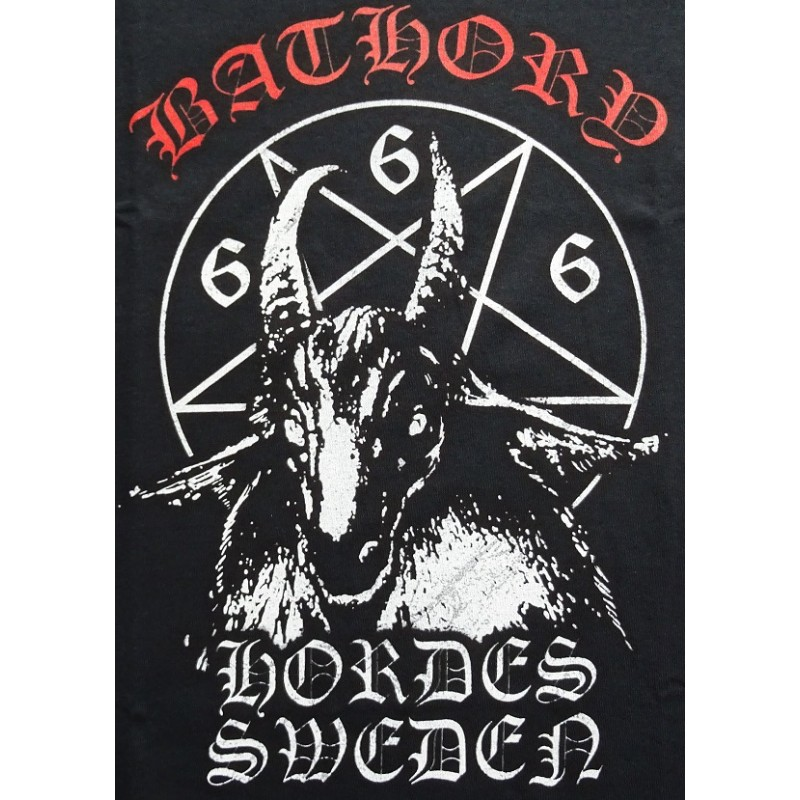 bathory goat hordes sweden 666 absolutely unique tshirt