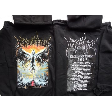 IMMOLATION Atonement European Tour 2017 HOODIE HOODED SWEATSHIRT HOODY All Size Größe