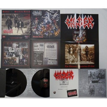 VADER Morbid Reich Special Collector's Edition limit of 200 pcs every numbered edition LP+POSTER+BACKPATCH+BADGE+STICKER