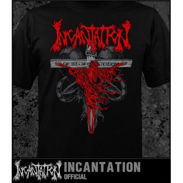 INCANTATION OFFICIAL Profane Nexus T-SHIRT Decimate Christendom