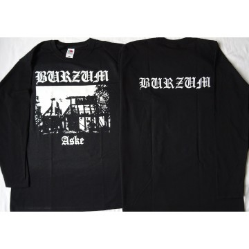 BURZUM Aske OFFICIAL BLACK LONGSLEEVE