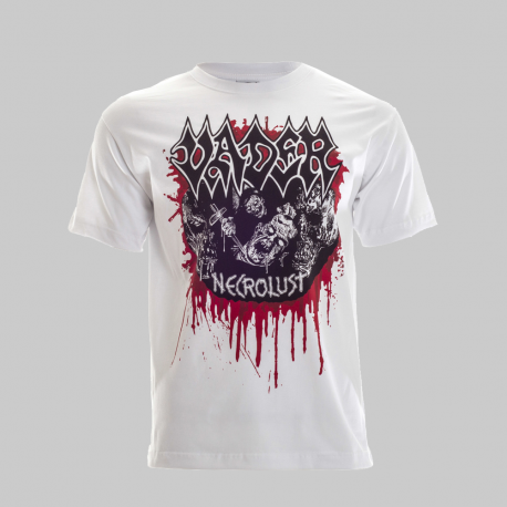 VADER Necrolust OFFICIAL T-SHIRT WHITE