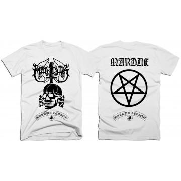 MARDUK Marduk Legion LIMITED EDITION WHITE T-SHIRT UNIQUE Ltd