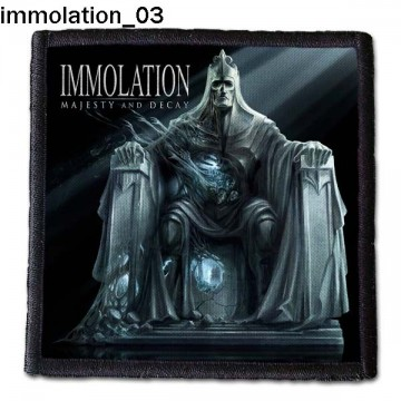 IMMOLATION PATCH