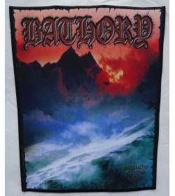 Bathory Twilight Of The Gods Backpatch Giant Back Patch Rückenaufnäher Aufnäher