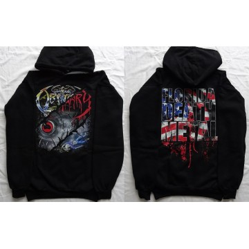 OBITUARY Florida Death Metal Classic Set Slowly We Rot Cause of Death The End Complete HOODIE HOODED SWEATSHIRT All Size Größe