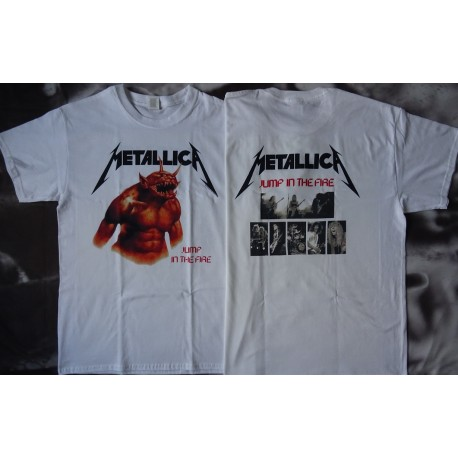 METALLICA Kill 'Em All Jump In The Fire Official T-Shirt