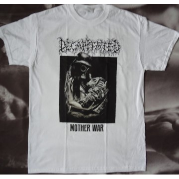 DECAPITATED Mother War Official White T-Shirt