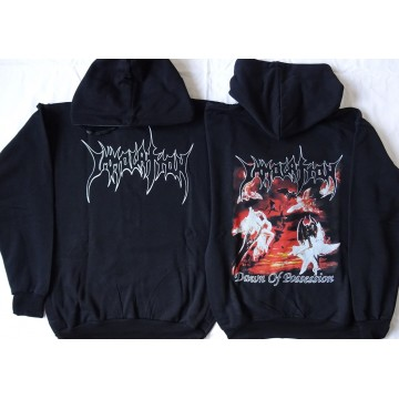 IMMOLATION Dawn Of Possession HOODIE HOODED SWEATSHIRT HOODY All Size Alle Größe
