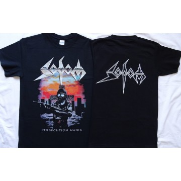 SODOM Official T-Shirt Persecution Mania