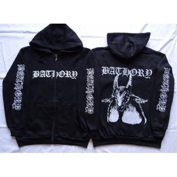 BATHORY ,,Bathory,, OFFICIAL ORIGINAL HOODIE ZIPPER