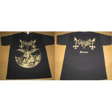 Mayhem Daemon Gold Official T-Shirt Ltd Official Merchandise