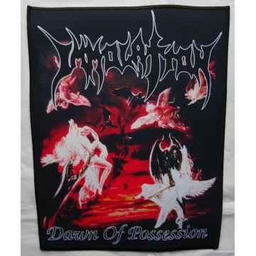 IMMOLATION Dawn Of Possession Backpatch Giant Back Patch Rückenaufnäher Aufnäher Ltd