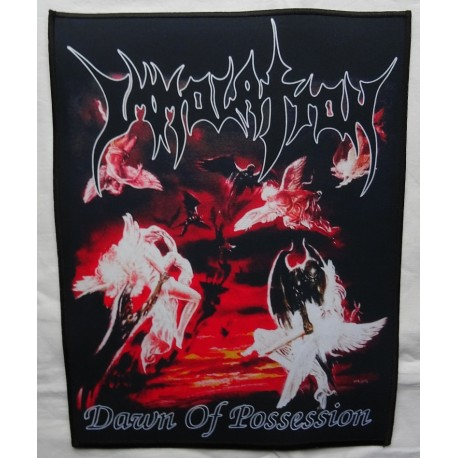 IMMOLATION Dawn Of Possession Backpatch Giant Back Patch Rückenaufnäher Aufnäher Ltd