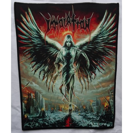 IMMOLATION Atonement Backpatch Giant Back Patch Rückenaufnäher Aufnäher Ltd