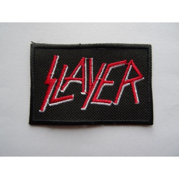 SLAYER PATCH EMBROIDERED