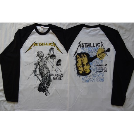 METALLICA And Justice For All Official Longsleeve