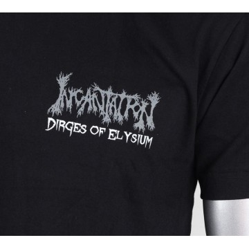 INCANTATION OFFICIAL DIRGES OF ELYSIUM BAND LOGO T-SHIRT