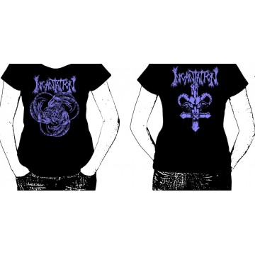 INCANTATION OFFICIAL SCAPEGOAT T-SHIRT GIRLY WOMEN