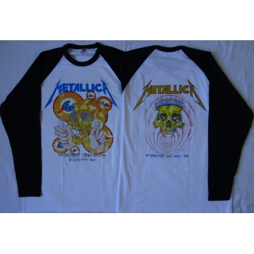 METALLICA Shortest Straw ...And Justice For All Official Longsleeve