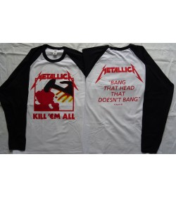 METALLICA Kill 'Em All Official Longsleeve
