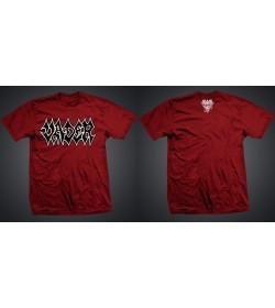 Vader Red T-Shirt Logo Black