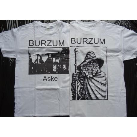 BURZUM ASKE OFFICIAL WHITE T-SHIRT