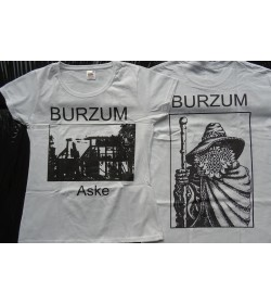 BURZUM Aske Girly Women T-Shirt OFFICIAL WHITE T-SHIRT