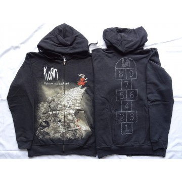 KORN Follow the Leader Official Zipper Hoodie Kapuzenjacke