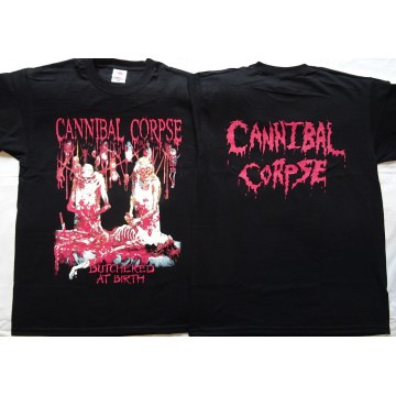 Cannibal Corpse Butchered At Birth OFFICIAL ORIGINAL T-SHIRT