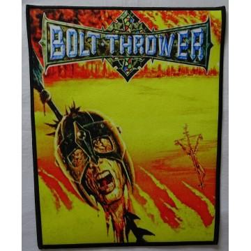 Bolt Thrower War Master Backpatch Giant Back Patch Rückenaufnäher Aufnäher