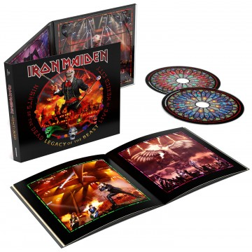 IRON MAIDEN Nights Of The Dead Legacy Of The Beast Live In Mexico 2CD