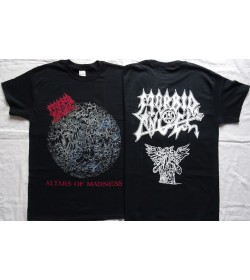 MORBID ANGEL Altars of Madness Official T-Shirt Gods of Death Metal