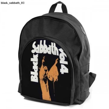 BLACK SABBATH backpack