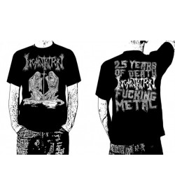 INCANTATION OFFICIAL T-SHIRT DELIVERANCE 25 YEARS OF DEATH FUCKING METAL